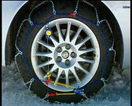 Weissenfels Weisstech 9 Plus snow chains