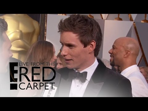 "How Eddie Redmayne Prepped to Film ""The Danish Girl"" 