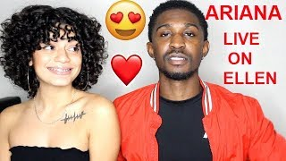 Ariana Grande - Thank U, Next! Live On The Ellen Show (FULL Performance) REACTION! Jaz & Alex