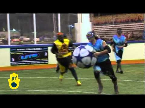 New Football with Handheld Stun Guns: Shocking Ultimate Tak Ball Game in Thailand