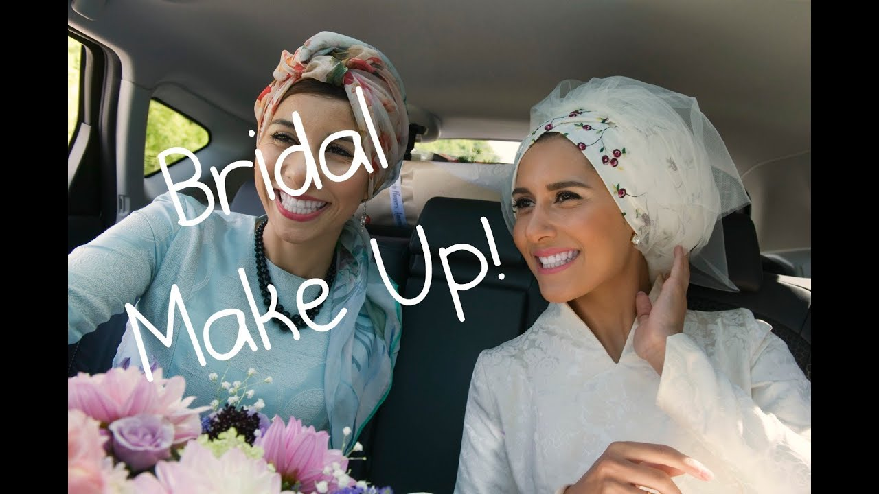 MY BRIDAL MAKEUP TUTORIAL
