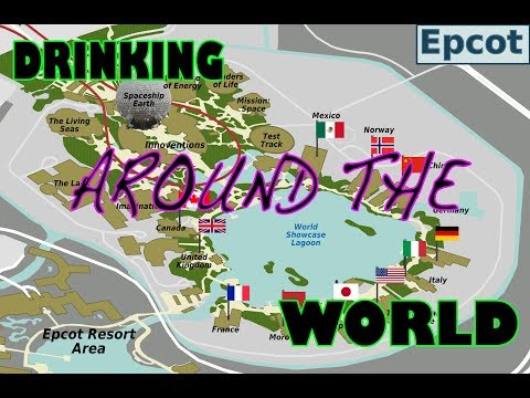 Walt Disney World : Epcot Drinking Around the World
