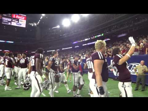 Texas A&M War Hymn after beating Arizona State 38-17