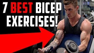 7 Bicep Exercises for Bigger Arms (DON'T SKIP THESE!)