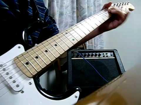 Adlib Guitar Solo♯2 wahwah  エレキギター演奏