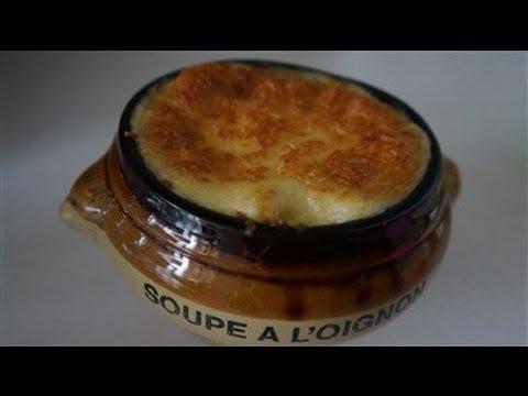 Soupe l 39 oignon gratin e cuisinerapide youtube - Soupe a l oignon gratinee ...