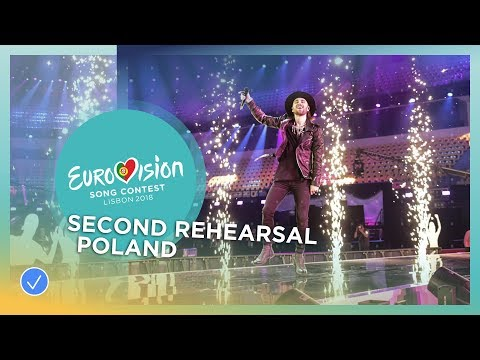 Gromee feat. Lukas Meijer - Light Me Up - Exclusive Rehearsal Clip - Poland - Eurovision 2018