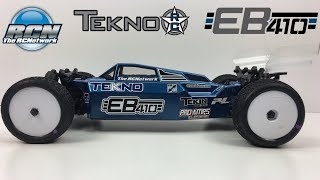 Tekno EB410 - Reveal - 1/10th 4wd Buggy KIT Completed