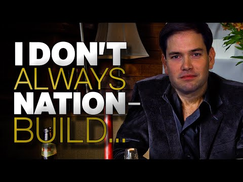 Marco Rubio Against Nation Building But He's For Building Nations [Hilarious Video]