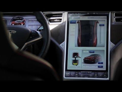 Tesla Model S - Touch Screen Interface - Exotic Driver