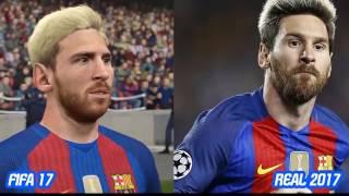 Lionel Messi TRANSFORMATION ● FIFA 2004 to FIFA 17