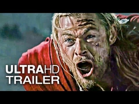 THOR 2 THE DARK WORLD Trailer Deutsch German | 2013 Official Marvel [Ultra-HD / 4K]