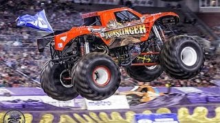 Monster Trucks and FMX Freestyle in Dothan AL NPF Arena 2017