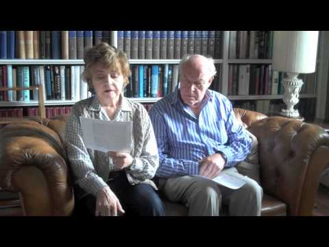 Prunella Scales reads for the King James Bible Trust YouTube Bible