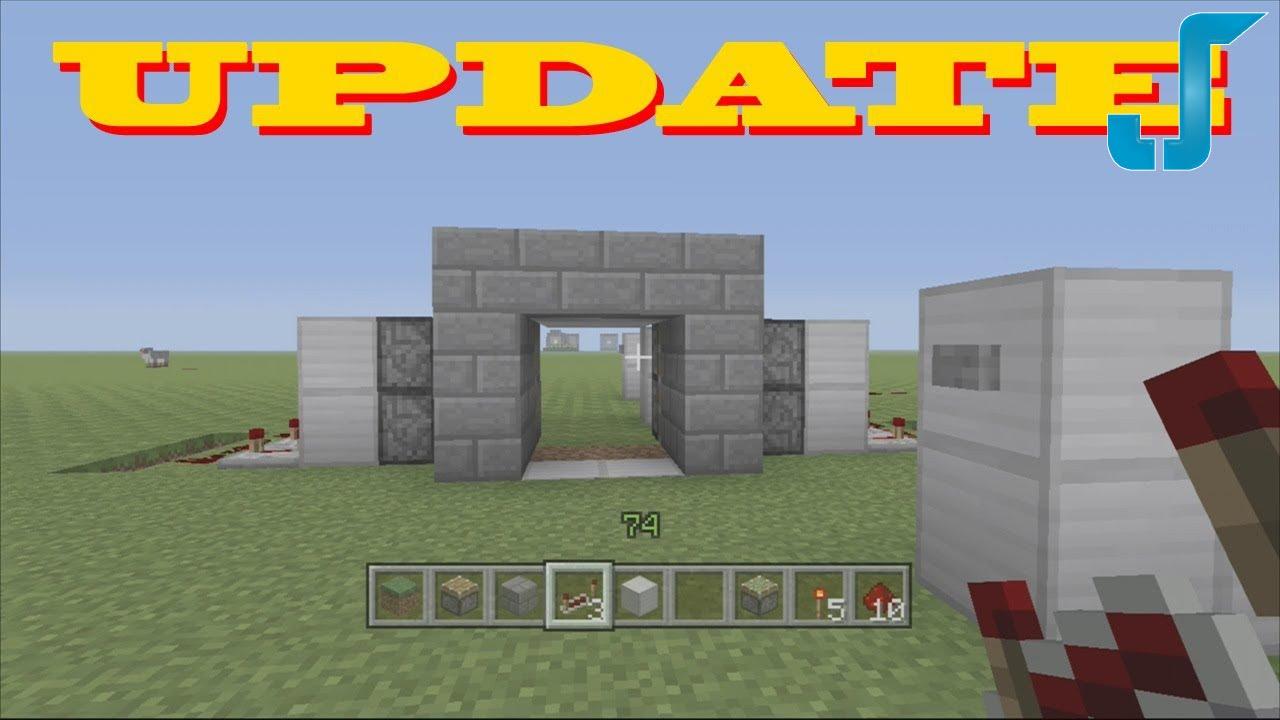 Piston Door 2x2 2x2 Secret Piston Door w/