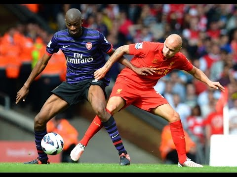Abou Diaby vs Liverpool (Away) 02/09/2012 HD