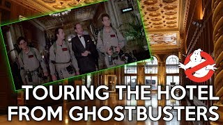 Download Song 35 YEARS LATER: Touring the hotel from Ghostbusters Free StafaMp3