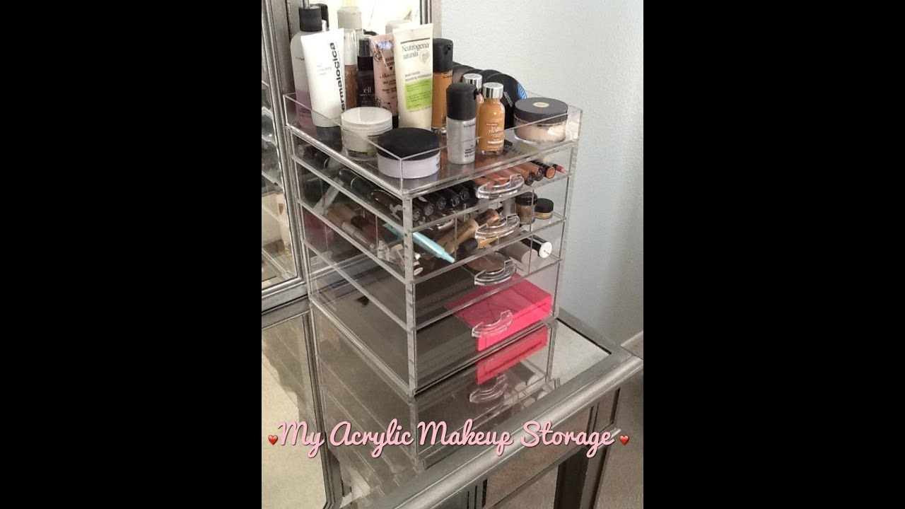 My Acrylic Makeup Storage Acrylic Concepts Unboxing And