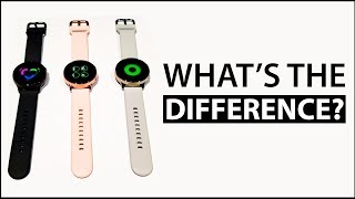 Galaxy Watch Active vs Galaxy Watch: What's the difference?