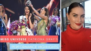 Miss Universe 2018 Catriona Gray's Performance Highlights