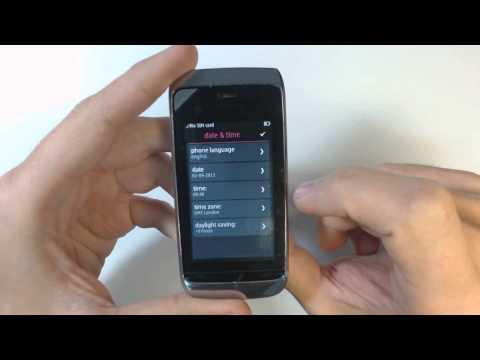 Nokia Asha 309 factory reset