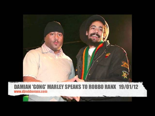 ROBBO RANX SPEAKS TO DAMIAN MARLEY