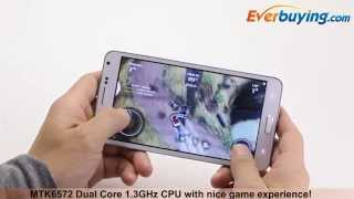 5.5 inch M-HORSE N9000W Android 4.2 3G Smartphone from Everbuying