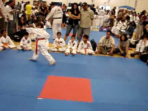 Melanie Walsh Taekwondo July 2009 Video