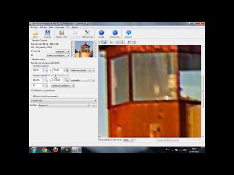 Aumentar o reducir imágenes sin perder su calidad