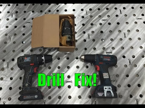 how to change chuck on makita drill