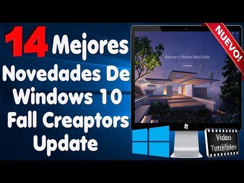 Windows 10 Fall Creators Update | Sus Mejores Novedades...!!!