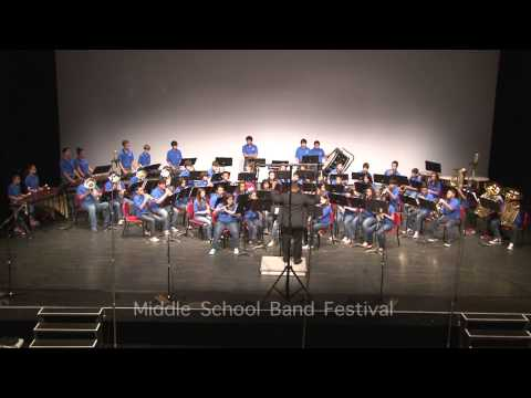 Middle School Band Festival (Part 3/4) Coakley
