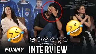 Antariksham Special Interview with Varun Tej, Lavanya and Aditi Rao | Top Telugu Media