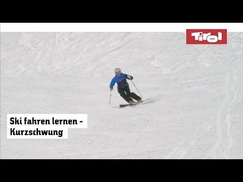Skifahren Technik: Kurzschwung Lernen - Tirol In Österreich