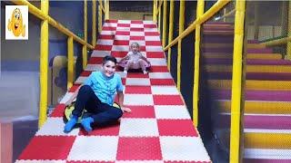 Indoor Playground for children | Fun activities with Zehra And Yusuf VIP Vlad 2018