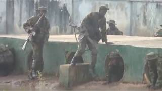 OBSTACLE COMPETITION DEPOT NIGERIAN ARMY