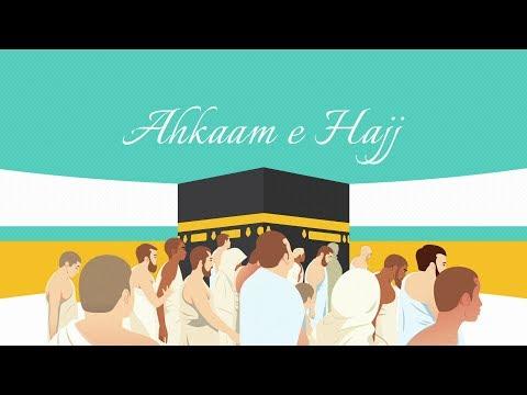 AHKAAM -E- HAJJ | HOST AQEEL TURABI | GUEST MAULANA MUNAWWAR ABBAS KUMAILI | 1440 HIJRI (2019)