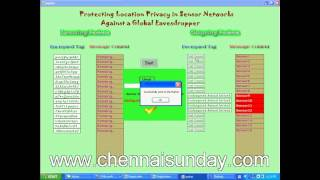IEEE Projects 2012 | Protecting Location Privacy in Sensor Networks Against a Global Eavesdropper