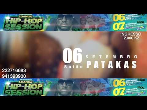 Luanda hip hop session spot