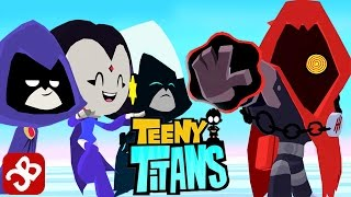 Teeny Titans - Raven VS The Hooded Hood - iOS / Android - Gameplay Video