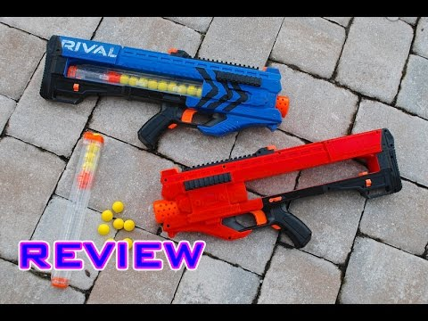 [REVIEW] Nerf Rival Zeus Unboxing. Review. & Firing Test