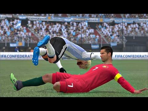 ¿¿Cristiano Ronaldo LESIONA a  Messi??   FIFA 17 Modo carrera #8
