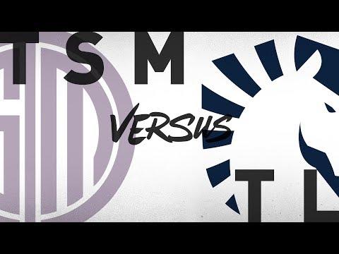 TSM vs. TL - Week 9 Day 2   NA LCS Summer Split   TSM vs. Team Liquid (2018)