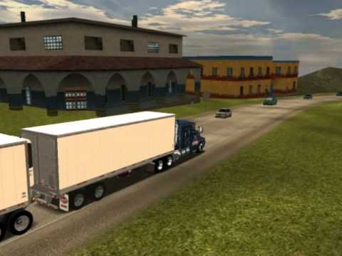 18 wheels of steel haulin kenworth t600 flattop