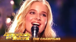 Jackie Evancho: 18-Year-Old STUNNING Opera Singer Is BACK! | AGT Champions