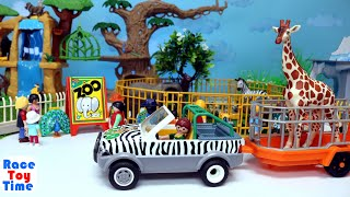 Zoo Wild Animals Toys For Kids  - Learn Animal Names