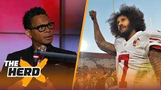 Does Colin Kaepernick need to change his appearance? Eric Davis weighs in | THE HERD