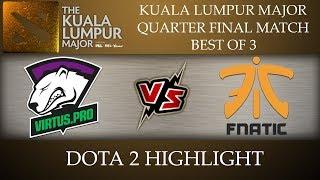 VP Virtus Pro vs Fnatic Kuala Lumpur Major 2018 Dota 2 Highlights [12-Nov-2018]