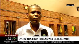 Justice Minister on a surprise visit to the Thohoyandou prison