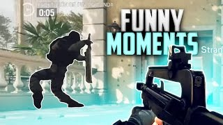 T-REX in SIEGE? Rainbow Six Siege (Funny Moments)
